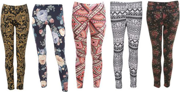 5a11c295bb How to Wear Patterned Pants and Leggings - College Fashion