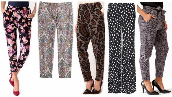 printed pants fall 2012 must-have