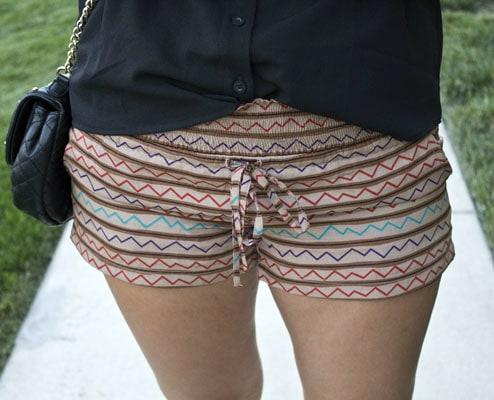Printed shorts at the university of kansas