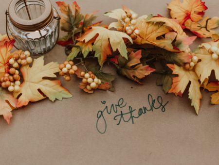 Give thanks place setting