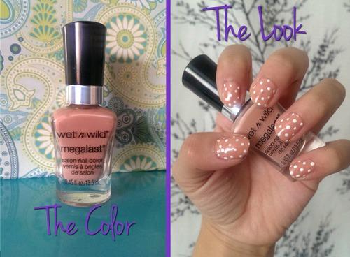 Private viewing nail polish look