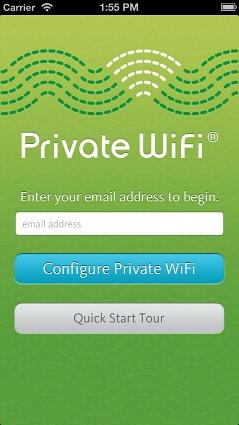 Private wifi app