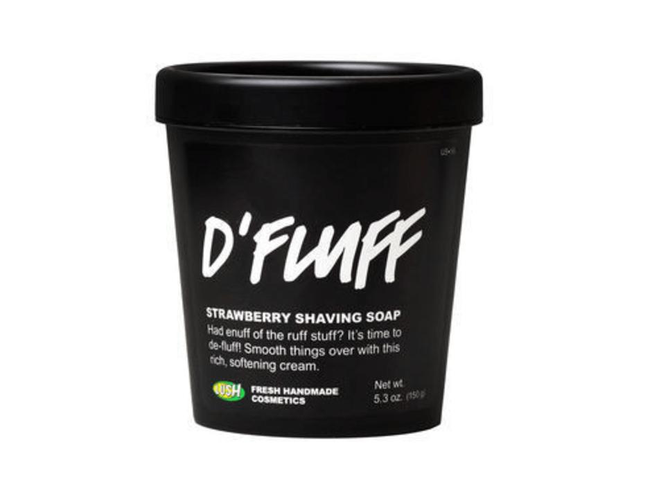 Lush D'Fluff Shaving Soap