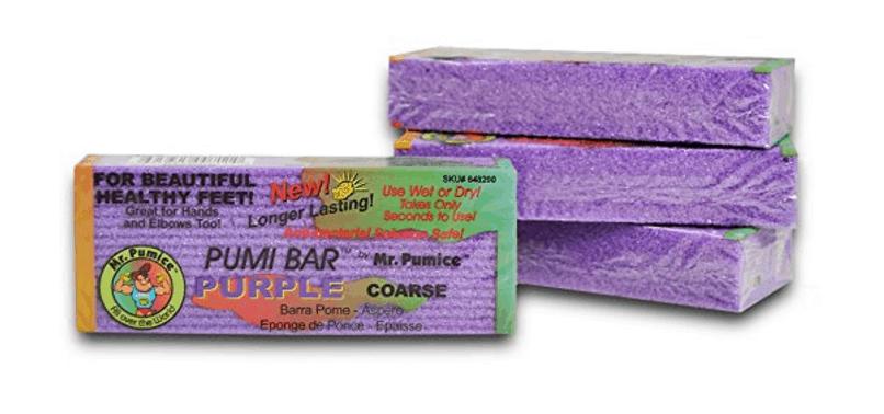 Mr. Pumice Pumi Bar Purple - 4 Pumice Bars