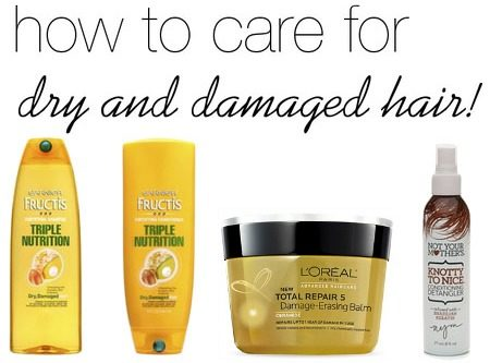 Products for dry and damaged hair