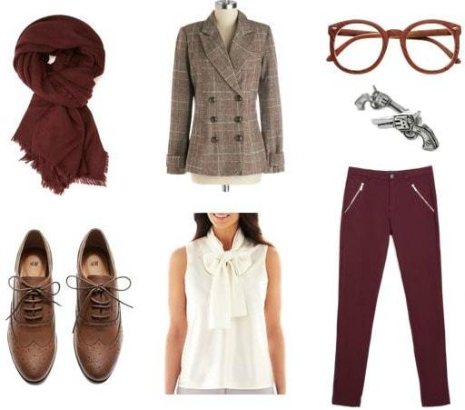 Professor Plum outfit