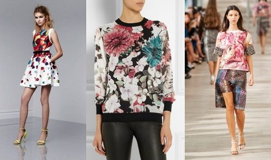 Psychedelic Floral Print Trend