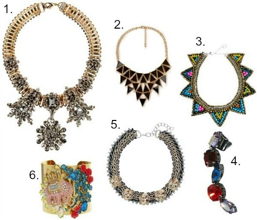 Pucci fall 2013 inspired jewelry