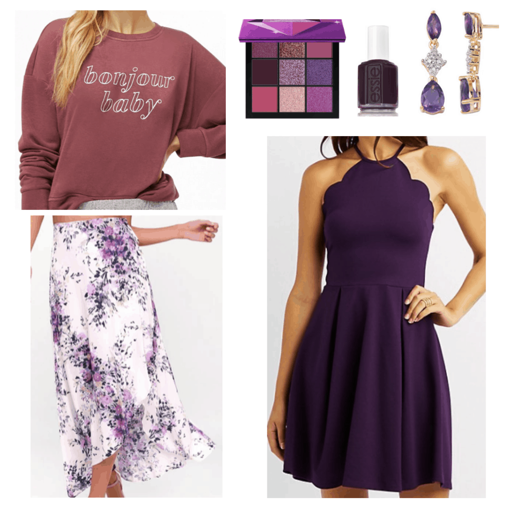 All Purple Clothes and Accessories