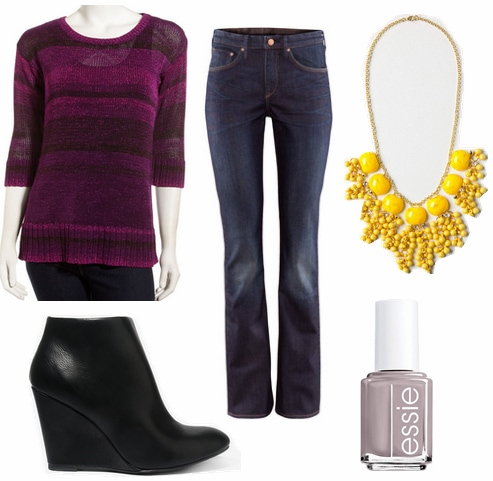 Purple+yellow outfit 4