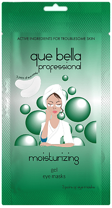 Que Bella Professional Moisturizing Gel Eye Masks