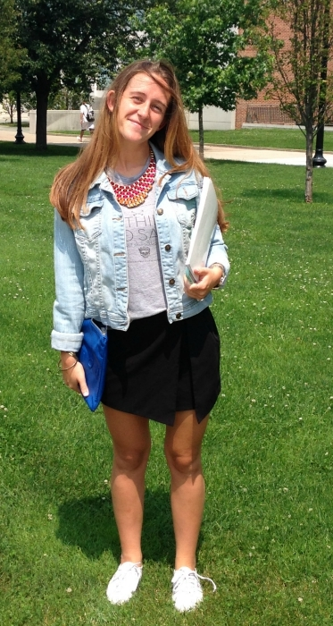 Queens College student street style