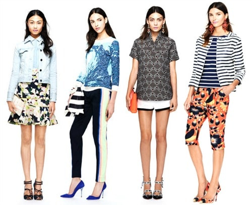 Quirky j. crew outfits