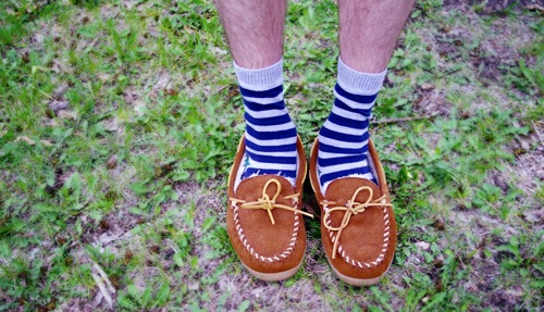 Quirky men's fashion at macalester college