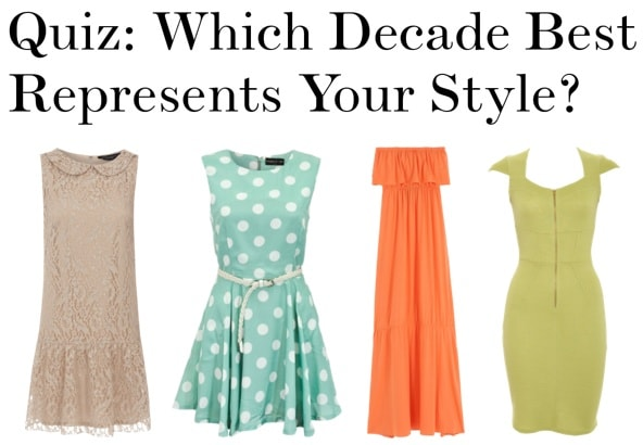 Quiz: Which Decade Best Represents Your Style?