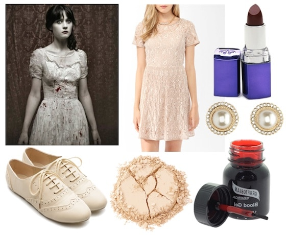 Quiz-Halloween 2012-Zombie Zoey Deschanel