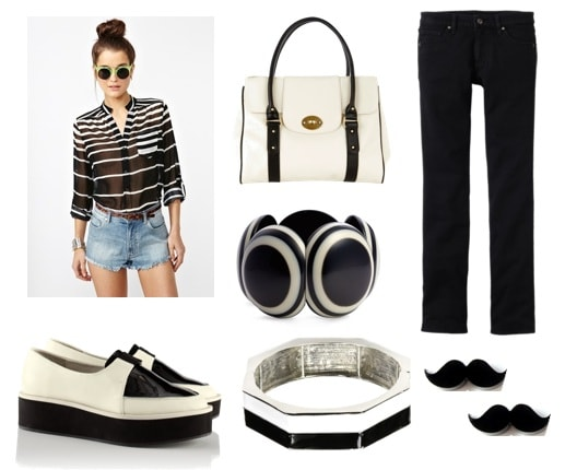 Quiz-Spring 2012 Trends-Black and White