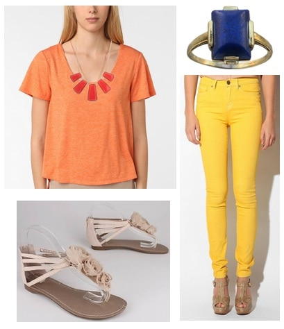 Quiz: Which Spring Trend Should You Try: Color Blocking Outfit