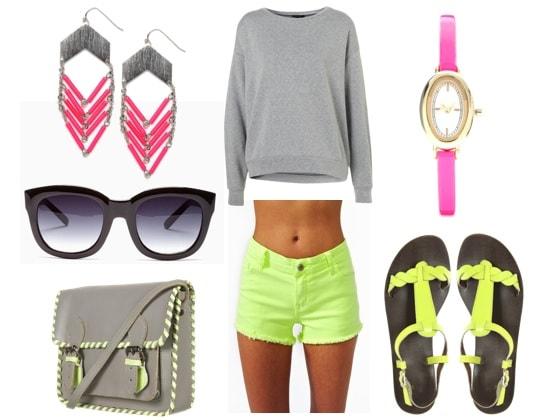 Quiz-Summer 2012 Trends-Neon