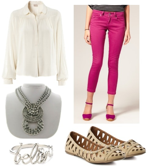 quiz-what fall 2011 trend should you try-bright pants-outfit