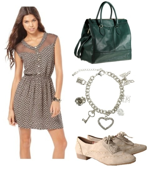 quiz-what fall 2011 trend should you try-polk dot outfit