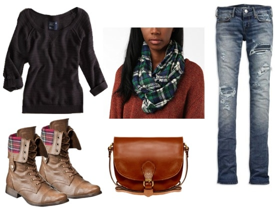 quiz-what fall 2011 trend should you try-tartan plaid outfit