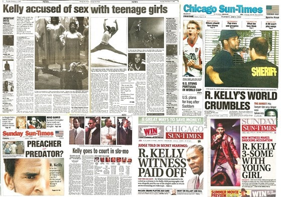 Chicago Sun Times coverage of R. Kelly