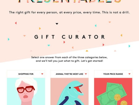Refinery 29 Gift Curator