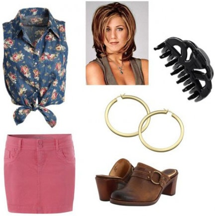 Rachel Green from Friends outfit 1
