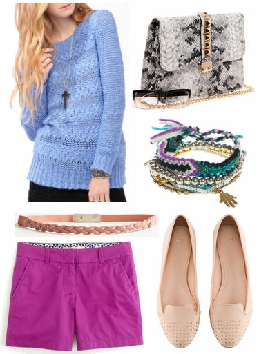 Rachel roy spring 2013 inspired outfit 1