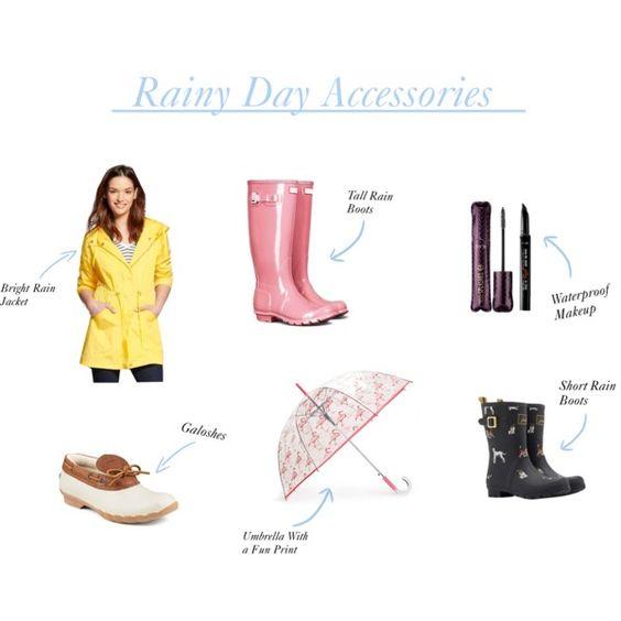 Rainy Day Polyvore Set
