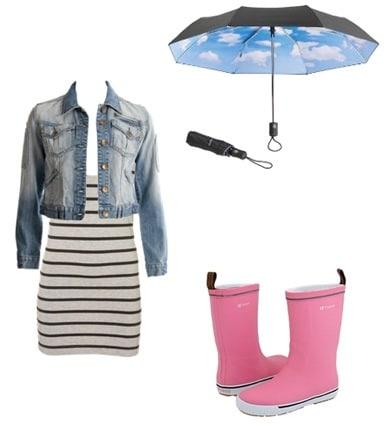 Rainy day clothes