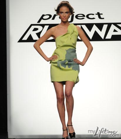 ramon surfer dress on Project Runway