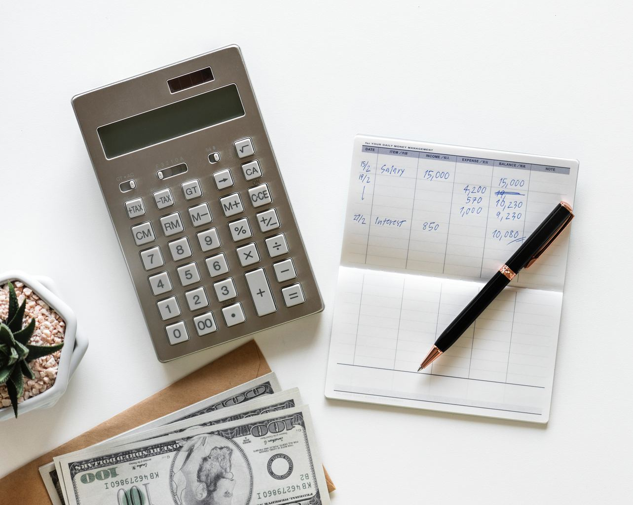 budget, money, calculator, planning