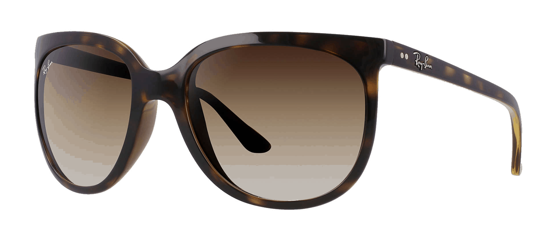 Ray-Ban Cats 1000 in light brown gradient