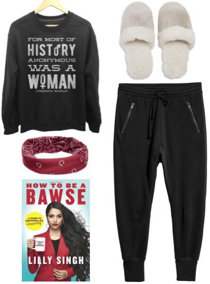 What to wear for reading, when your new year's resolution is to read more