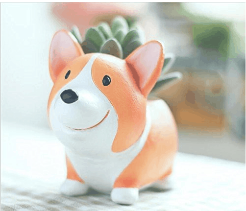 Best gifts for mom: Corgi planter