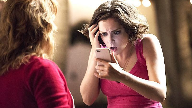 Still of Rachel Bloom as Rebecca Bunch in Crazy Ex Girlfriend tv show