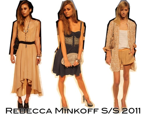 Rebecca Minkoff Spring Summer 2011