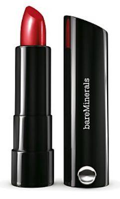 Bare Minerals red lipstick