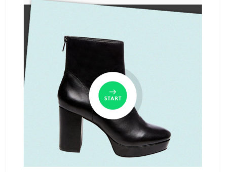 Refinery29 Shoe Shopping Deck