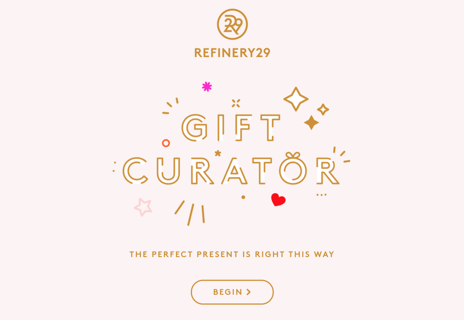 Refinery29 Holiday Gift Curator 2016