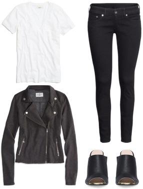 Refreshing wardrobe basic outfit