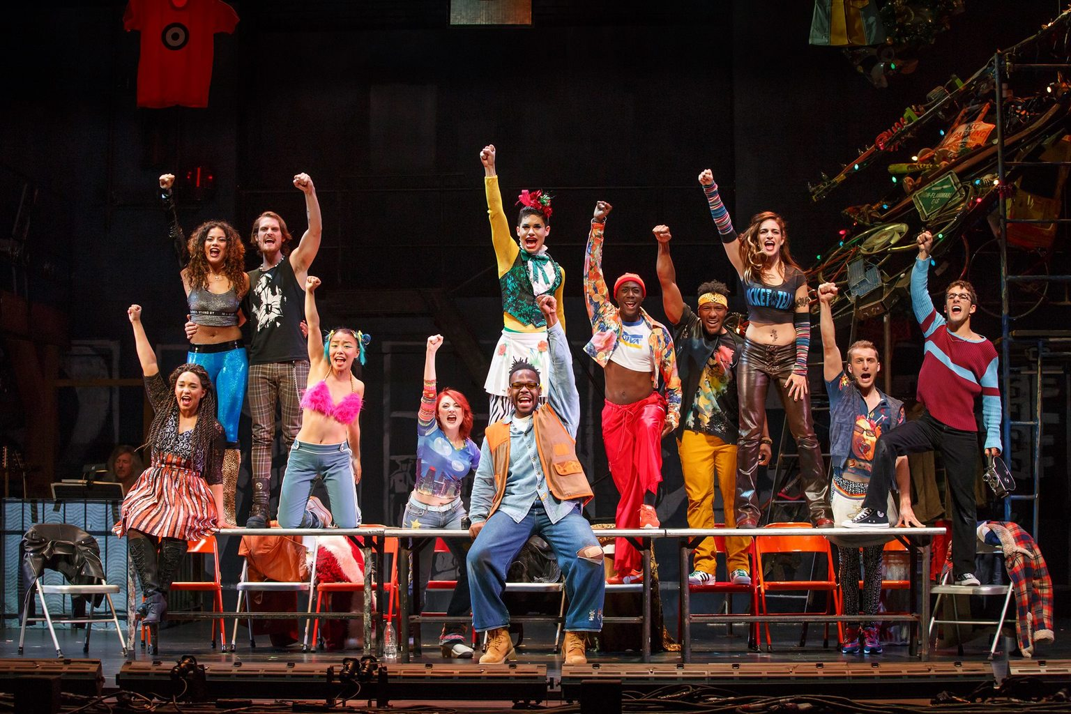Rent New Touring Cast
