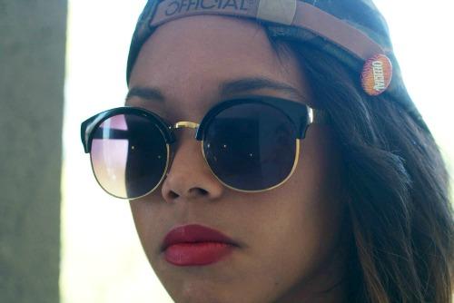 Retro sunglasses at savannah college of art