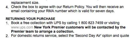 net-a-porter Return Policy