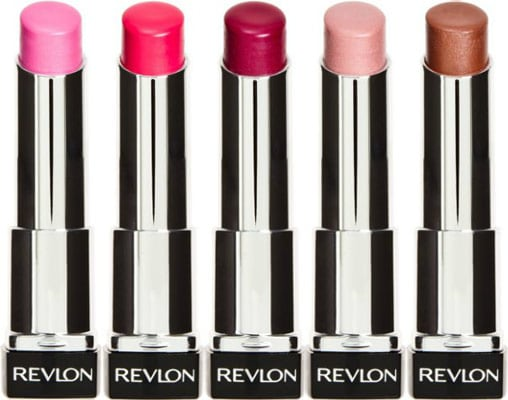 Revlon Lip Butters in Cupcake, Sweet Tart, Raspberry Pie, Sugar Frosting, and Brown Sugar