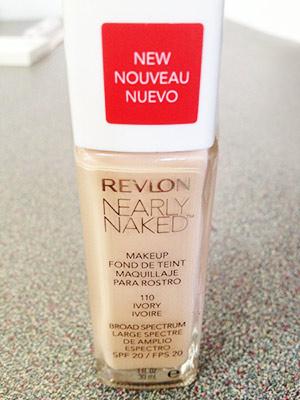 Revlon Nearly Naked foundation