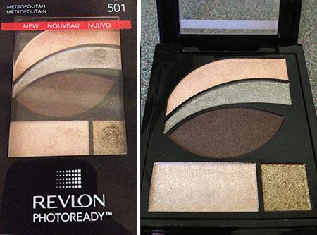 Revlon photoready eyeshadow palette in Metropolitan