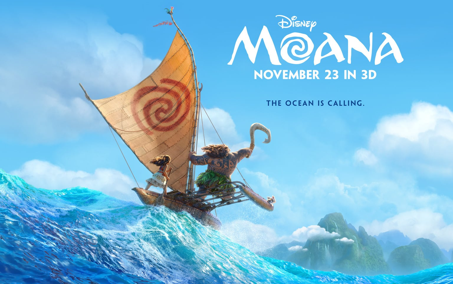 Moana Promotional Poster